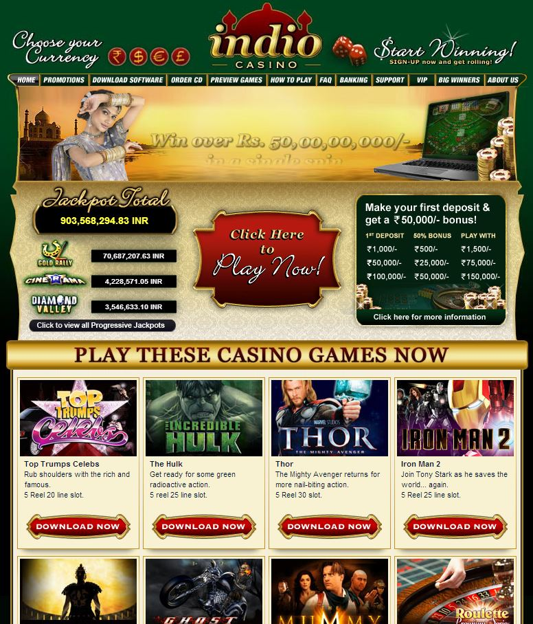 Casino indio beau casino